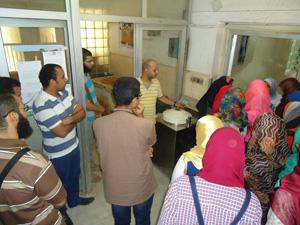 طلاب جامعة بنها في معهد الامصال واللقاح بالعباسية