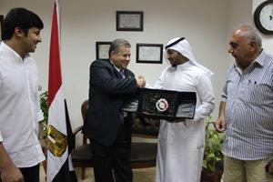 اتفاقية تعاون بين كلية الهندسة بشبرا - وحدة التدريب المتقدم وجمعية المهندسين الكويتية