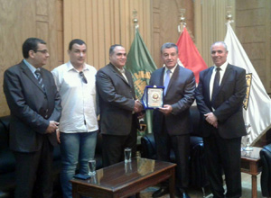 Cooperation between Benha University and Pharmacist Syndicate in Qalyoubia