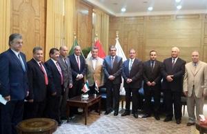 رئيس جامعة بنها يستقبل المستشار الثقافى الكويتى لبحث سبل التعاون العلمى والإكاديمى بين الجانبين