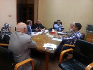 رئيس جامعة بنها يتابع مراحل تنفيذ الخطة الإستراتيجية للجامعة
