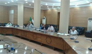 خطط إستقبال العام الجامعي 2016/2015 في إجتماع إتحاد طلاب الجامعة