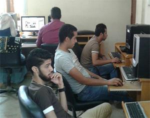 دورة فى صيانة الحاسب الالي لطلاب جامعة بنها