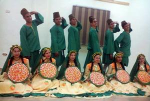 فرقة الفنون الشعبية بالجامعة تستعد ﻹسبوع شباب الجامعات