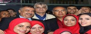 بالصور ... البوابة الإلكترونية تتابع فاعليات إسبوع شباب الجامعات لليوم الثاني