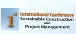 المؤتمر الدولي الأول للتشييد المستدام وإدارة المشروعات 2016