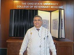 البوابة الالكترونية تتابع زيارة عميد كلية الطب البيطري لجامعة اوهايو بالولايات المتحدة الامريكية