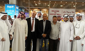 بالصور ..  إستقبال حافل لوفد جامعة بنها المشارك في معرض التعليم والتدريب بالكويت