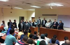 الشيحى: مجلس الوزراء وافق على كادر الأطباء والتمريض فى المستشفيات الجامعية وقانون تنظيم الجامعات سيطرح على المجتمع الجامعى