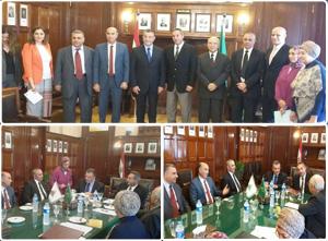 توقيع إتفاقية تعاون بين بنك مصر وجامعة بنها  لتمويل مشروعات الشباب والثروة الحيوانية