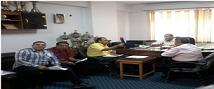 إجتماع رؤساء إدارة رعاية الشباب بالكليات لمناقشة خطة الإنتخابات الطلابية للعام الجامعي 2016/2015