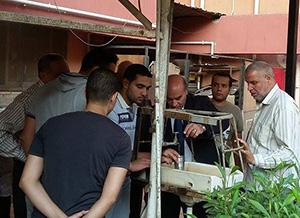 نائب رئيس جامعة بنها لشئون الطلاب يتابع تحليل مياه الشرب بالمدن الجامعية بكفر سعد