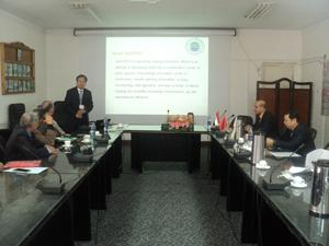 تعاون بين كلية الزراعة بجامعة بنها واكاديمية العلوم الصنية في مجال البحوث الزراعية