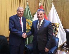 Le Conseiller culturel koweïtien lors de sa visite à l'Université de Benha : L'initiative du soutien du tourisme égyptien était tout à fait acceptable pour le peuple du Koweït