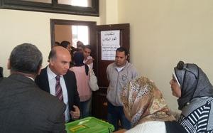 هدوء وإقبال كبير على إنتخابات الإتحادات الطلابية بجامعة بنها