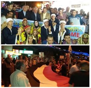 منتخب جامعة بنها للفنون الشعبية يقدم عروضا فنية بشوارع شرم الشيخ لدعم السياحة