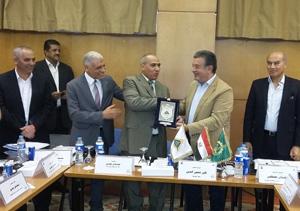 مجلس جامعة بنها يكرم مدير أمن جنوب سيناء تقديرا لجهوده الأمنية