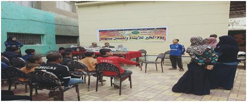 زيارة إلى دار الأيتام ببنها بالتنسيق مع مبادرة لمسة خير
