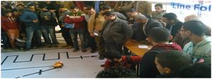 مسابقة «Line Follower Robot» ضمن فاعليات مهرجان «كراكيب4»