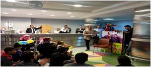 زيارة إلى مستشفي 57357 للأورام بطنطا بالتنسيق مع مبادرة لمسة خير