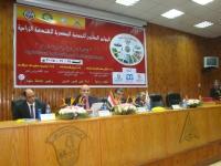 La Faculté de l 'agriculture à Moshtohor organise une conférence scientifique sur l 'ingénierie agricole et les défis de la patrie.