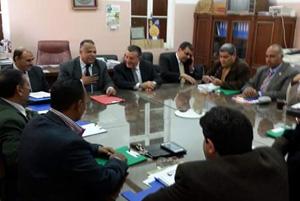 رئيس جامعة بنها يترأس أول إجتماعات نادى أعضاء هيئة التدريس الجديد