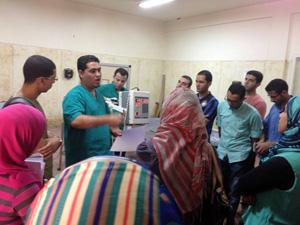 جامعة بنها دورات تدربية للطلاب والخرجين عن استخدامات الأشعة السنية والموجات فوق الصوتية في التعليم الطبي البيطري