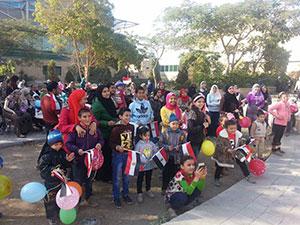 بالتعاون مع مبادرة لمسة خير جامعة بنها تنظم زيارة إلى مستشفي الأطفال 57357 بالقاهرة