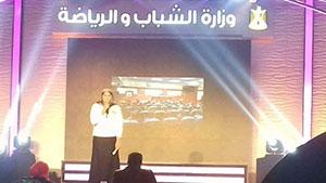 جامعة بنها تشارك فى مسابقة المراسل التليفزيوني بمسابقة (ابداع ٤) جائزة الشارقة