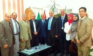بروتوكول تعاون بين الاتحاد العربى للتنمية المستدامة والبيئة وكلية الزراعه جامعه بنها