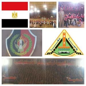 جامعة بنها تشارك فى اللقاء الرياضى للجامعات المصرية