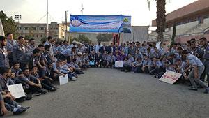 جامعة بنها تفتح المهرجان الكشفي الرابع عشر