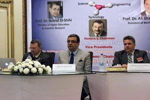 العالم المصري مصطفى السيد يفتتح مؤتمر النانو تكنولوجي بهندسة شبرا