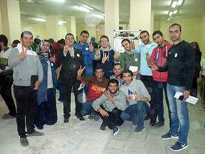 أبناء جامعة بنها بالمركز الأول فى جميع فروع مسابقة الملتقى العلمى الثامن على مستوى الجامعات المصرية (روبوت 2016)