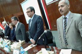 بالصور ... ورشة عمل للتعريف ببنك المعرفة المصري
