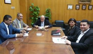 Protocole de coopération entre l'Université de Benha et le Centre d'Activités Francophones (CAF)