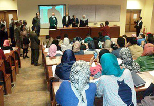 وفد من جامعة شيان الصنية يزور كلية الحاسبات والمعلومات بجامعة بنها