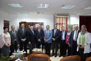The Faculty of Engineering in Shubra receives the Team of NAQAAE