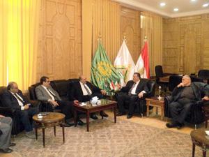 رئيس جامعة بنها يستقبل وفد من الجامعة الهاشمية بالمملكة الأردنية