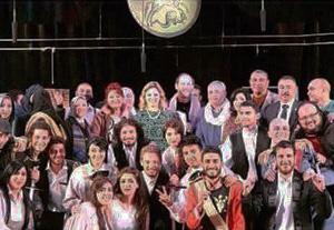 منتخب جامعة بنها للفنون المسرحية يحصل على المركز الثاني بمسابقة إبداع 4