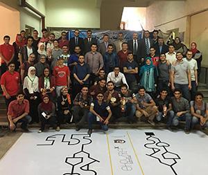 هندسة شبرا تنظم مسابقة الربوت (شبرا اكس) لطلاب الجامعات