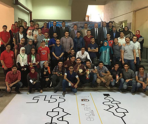 Shubra Faculty of Engineering organizes the Robot Contest (Shubra X)
