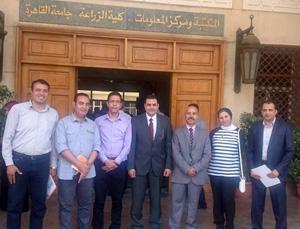 جامعة بنها تشارك بدورة إعداد المدربين لبنك المعرفة المصري