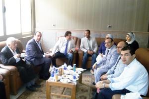 وفد جامعة بنها يشارك فى ورشة عمل الاتحاد الاوروبى بجامعة عين شمس