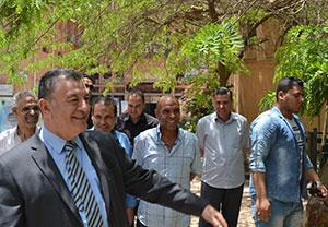 رئيس جامعة بنها يتفقد سير الإمتحانات فى أول أيام رمضان ويشدد على توفير كافة سبل الراحة والرعاية للطلاب