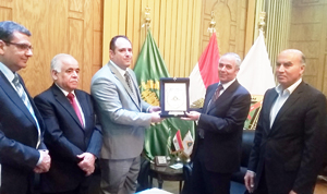 Cooperation between Benha University and the Iraqi Consul