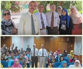 Beni Suef University receives Prof. Thomas Craig