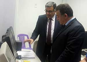 رئيس جامعة بنها يفتتح المبنى الإدارى للمستشفى الجامعى ويستمع لشكاوى المرضى