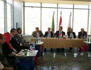 رئيس جامعة بنها يفتتح المنشات الجديدة لفرع الجامعة الأهلية بالعبور