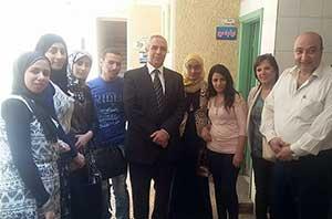 الدكتور جمال إسماعيل يتفقد أعمال القوافل الطبية بالخانكة والكشف على 900 حالة مرضية